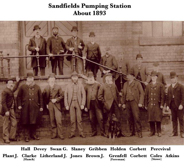 Sandfields Staff c1893