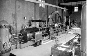 Brindley Bank PS - 9 September 1967 Horizontal Tandem Compound Pumping Engine - Hathorn Davey & Co, Leeds - 1902