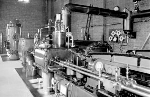 Brindley Bank PS - 9 September 1967 Horizontal Tandem Compound Pumping Engine - Hathorn Davey & Co, Leeds - 1902