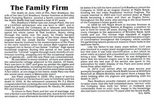 An extract from an old Company News Review, that was written by Gordon Sims