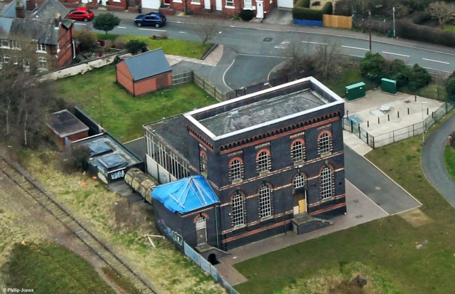 Sandfields Pumping Station from above