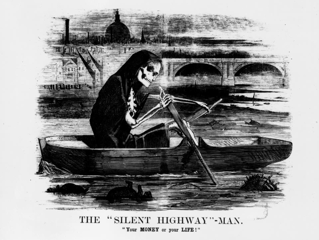 Cholera and the silent higway